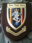 REME Personalised Military Wall Plaque